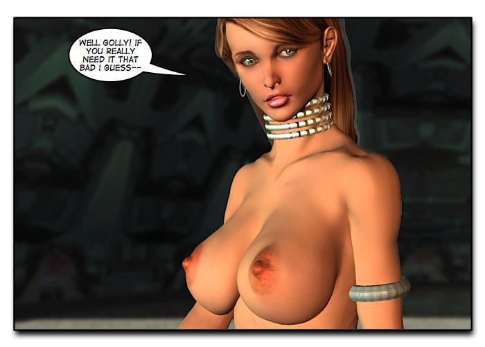 Mindy - Sex Slave On Mars c401-425 - part 17