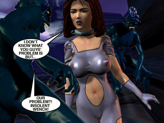 Mindy - Sex Slave On Mars c351-375 - part 11