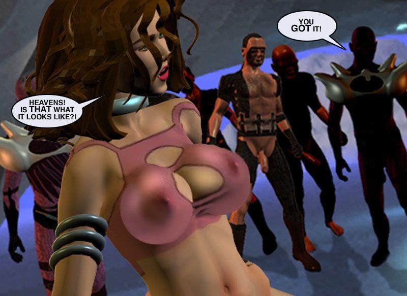 Mindy - Sex Slave On Mars c226-250 - part 11