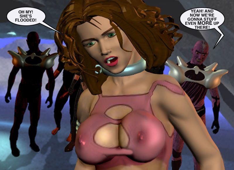 Mindy - Sex Slave On Mars c226-250 - part 13