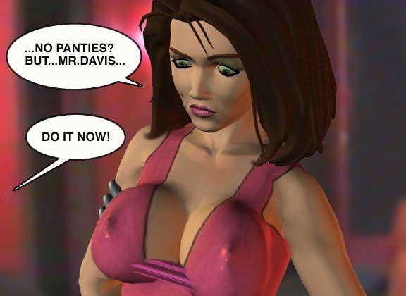Mindy - Sex Slave On Mars c001-025