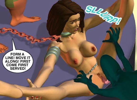 Mindy - Sex Slave On Mars c001-025 - part 18