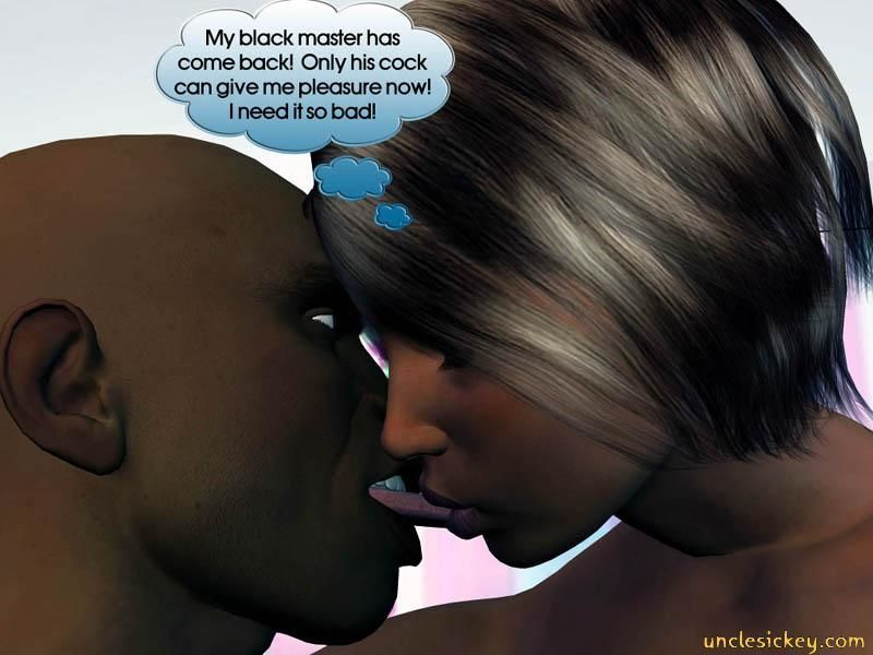 Black Cock Sex Slave Uncley Sickey 3d Comic +Bonus Comics - part 2
