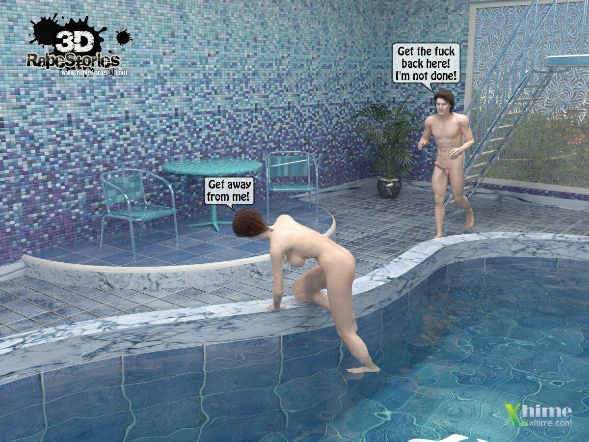 Raped at Pool - part 3