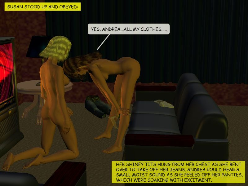 [3D] Hypnotic Roomates - part 3