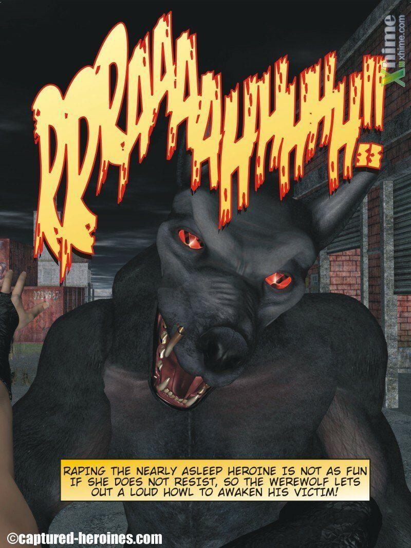 Fearsome Feline vs. The Werewolf - part 2