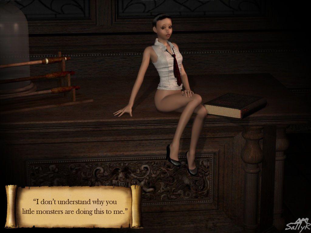 [3D] Miss Peachbottom 1 - part 2