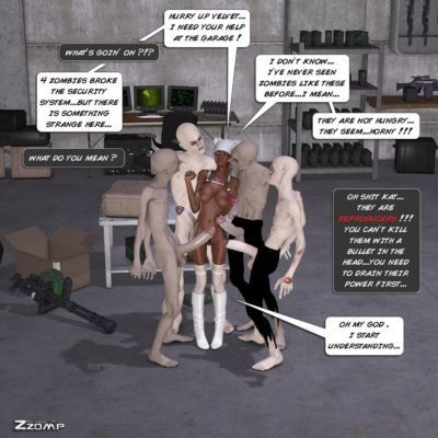 Zzomp  Kat & Velvet & Zombies - part 3