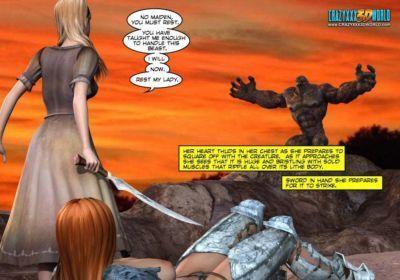 Blade Maidens  Episode 6 - part 3