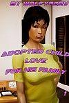 Adopted childs love for his mother