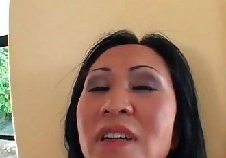 Asian MILF gets her wet pussy fucked - 28 min