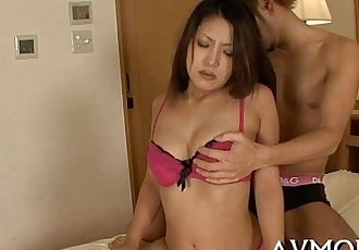 Pretty young mom seduces chap - 5 min