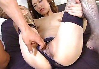 Cute Ryou Suzuka drilled nice and hard - 5 min