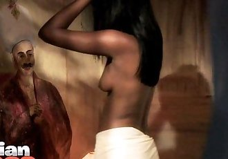 Indian Dark Skin Babe Amisha - 41 sec HD
