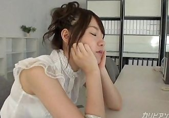 Asian Cutie office woman masturbating sex - Yui Uehara - 12 min