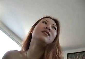 Chinese girl Sin Nye fucked by american cock - 9 min