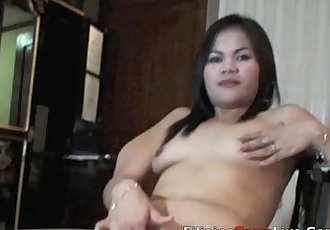Asian Bar girl from asiancamslive.com webcam chat site masterbates - 3 min