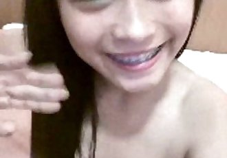 Beautiful Indonesian Girl-Natasya show cam - 10 min