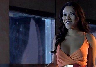 Passionate Asian babe Asa Akira fucks her man - 5 min HD