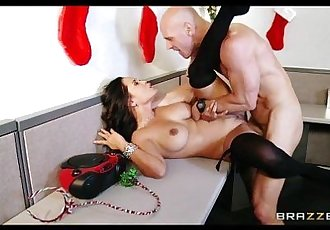 Slutty office secretary Jessica Bangkok livens up an office party - 7 min HD