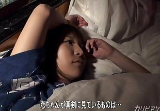 Japanese couple - Kimono Girl Fuck in Sleep - 12 min