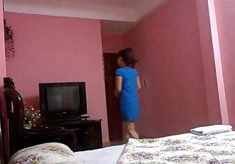 vietnamien Couple dans hôtel - 14 min