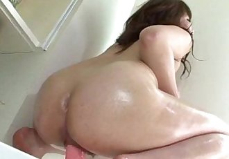 Kinky solo masturbation show with insolent Meina - 10 min