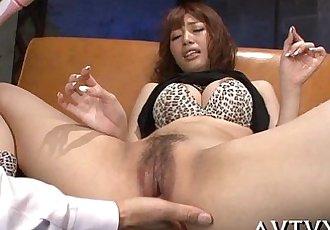 Toying japanese babes hawt vagina - 5 min