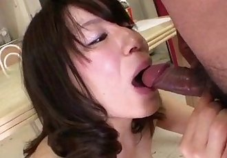 Akiko Miyake feels extreme with a big cock in her cherry - 12 min