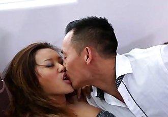 Asian Teen Alina Li Gets Her Pussy Drilled - 6 min HD
