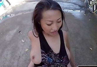 Big Booty Asian Sharon Lee Anal Banged In PublicHD