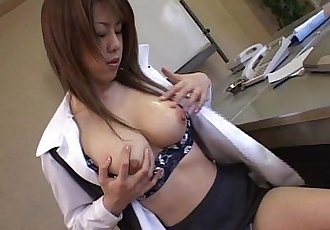 Brunette Asian is toy fucking her wet cunt till she cums - 8 min