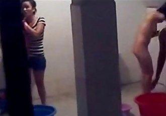 Vietnam student hidden cam in bathroom - 12 min