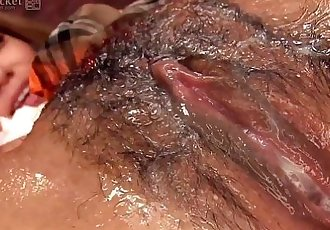 41Ticket - Rino Katagiri Oiled Up and Fucked - 5 min HD