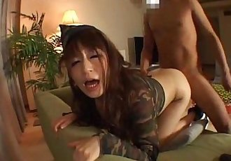 Hot milf gets busy in a hard cock - 8 min
