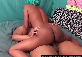 BIG BUTT SEXY TEEN SLUT RIDE DADDY DICK FOR HOT LOAD CREAMPIE IN HER PUSSY POV - 8 min HD+