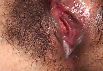 Ai Uemura fucking and creampie! - 9 min