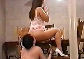 Asian Mistress and Slave Service step mom anal - 6 min