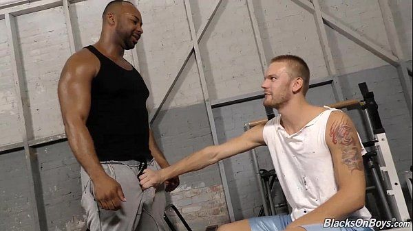 Aaron Jacobs Gets Fucked By His Black TrainerHD