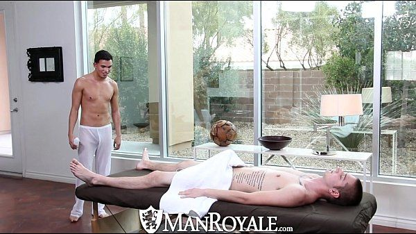 ManRoyaleLiam Troy Gets His Ass Pounded on the Massage TableHD