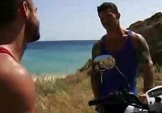 Follada en la playa