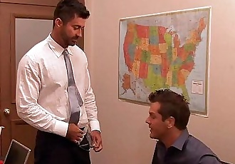Horny gay gets ass fucked at interviewHD