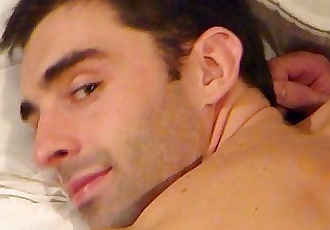 Esteban a sexy spanish guy get wanked his huge cock by me !