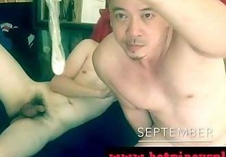 IYUTAN PINOY VIDEO- SUPER CUTE DADDY NILABASAN SA CONDOM!