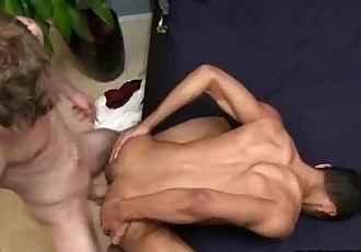 Straight hunk getting fucked anally for money
