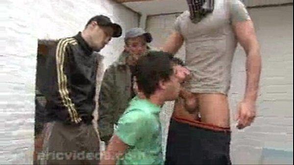 3 Dudes Kidnap Then Rough Fuck Twink