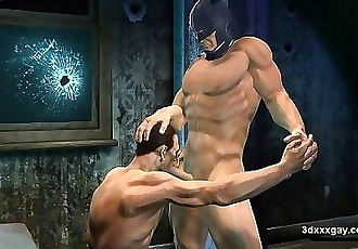 Joker is batmans sex slave