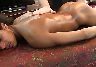 Riyazs accidental ejaculation is triggered by a black wand
