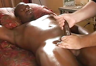 Andreas writhed, moaned & groaned as my finger slid deeper