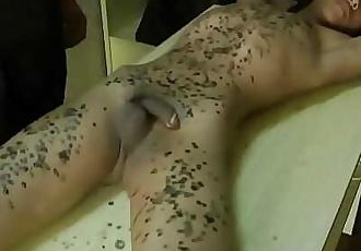 Bound Slave Boyz Wax and Cumshots 11 min 720p